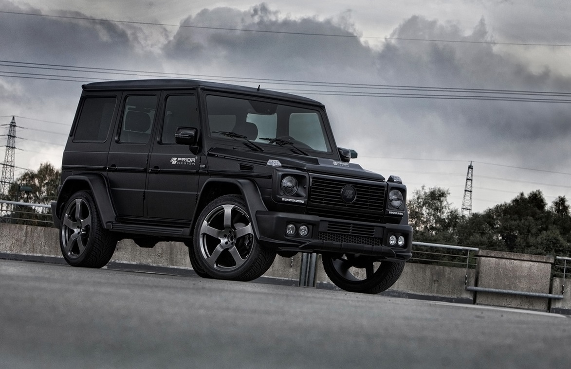 Prior design mercedes benz g class widebody gwagenparts for Mercedes benz g class parts