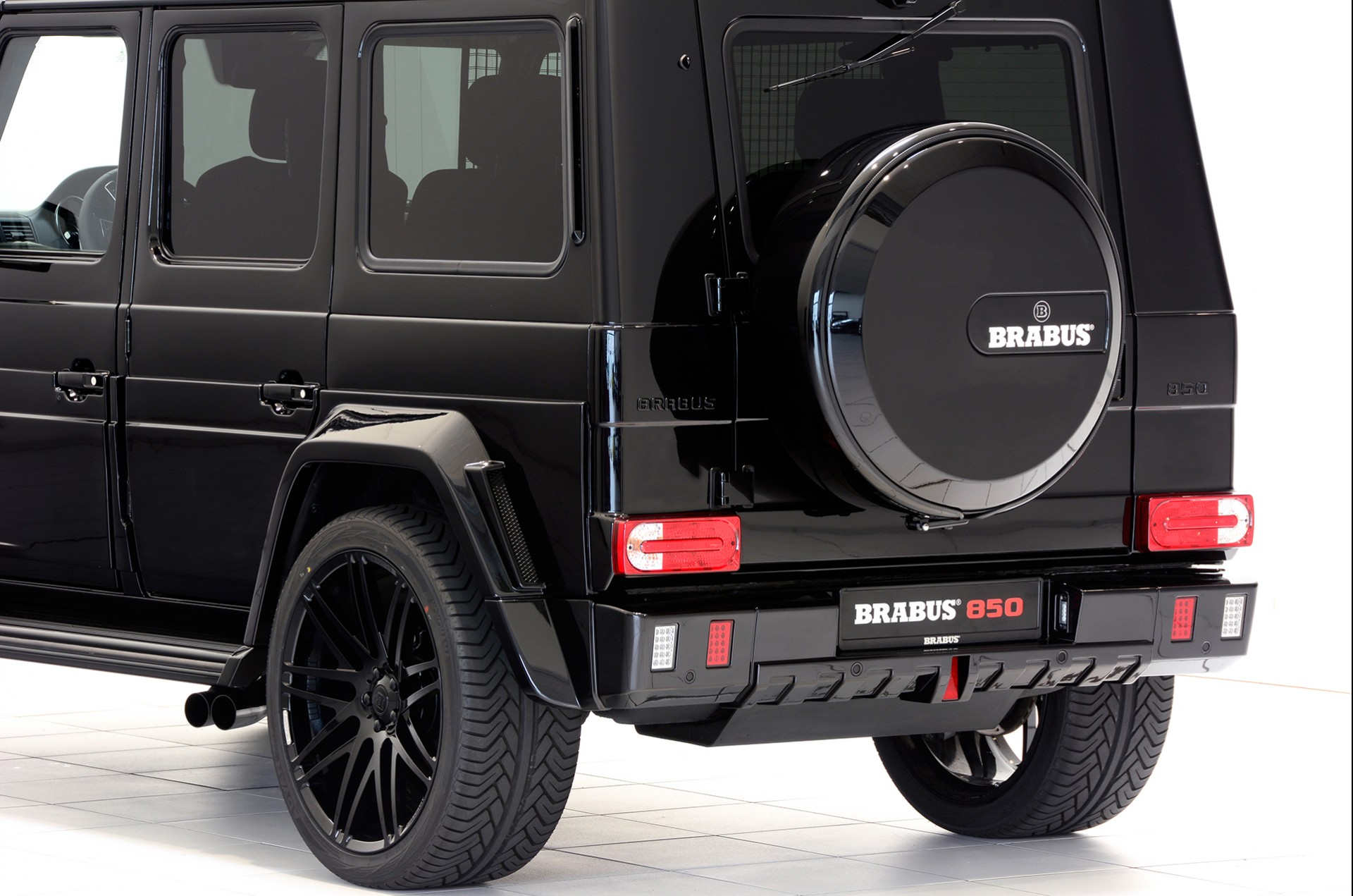 Brabus sports exhaust system for mercedes benz g class for Mercedes benz exhaust
