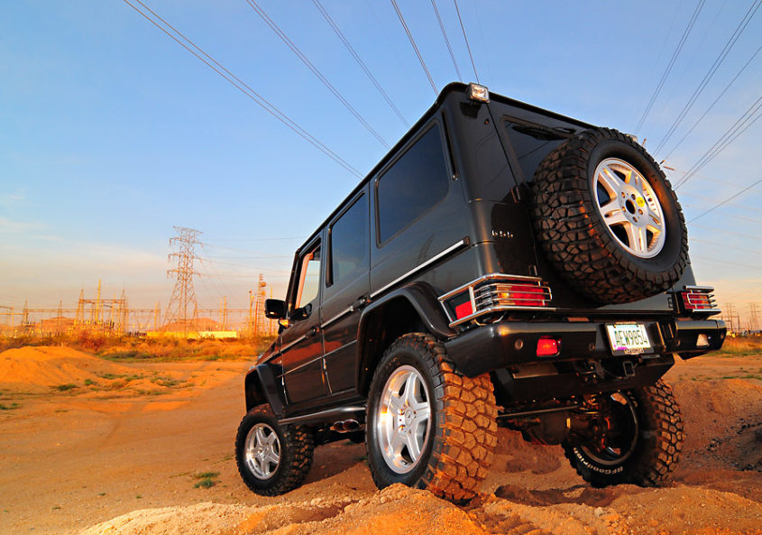 Dyno comp 8 lift kit for mercedes g class gwagenparts for Mercedes benz g wagon parts