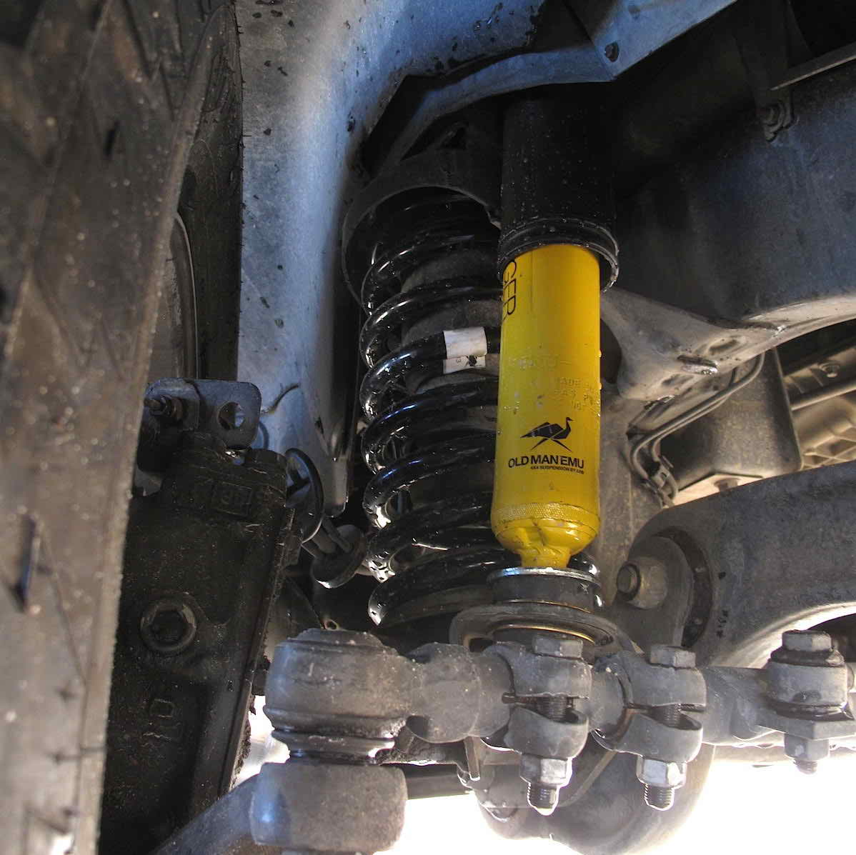Mercedes G-class (W463) ARB/OME 50mm Lift Kit (no front ...