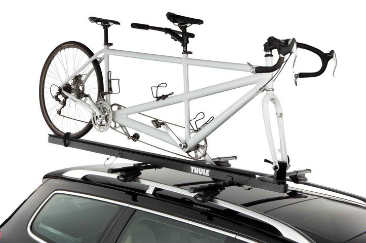 Thule 174 Tandem Carrier Pivoting Roof Bike Rack For G