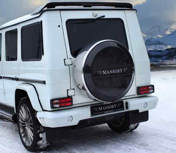 Mansory rear bumper for mercedes benz g class g63 for Mercedes benz g class accessories