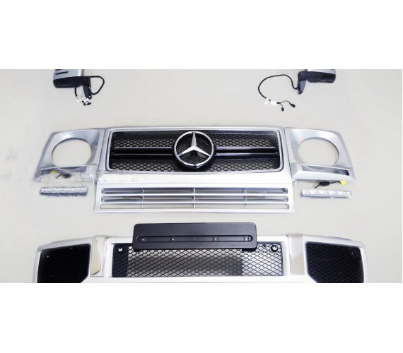 For Mercedes Benz W463 G Class Exterior Mirror Look – name