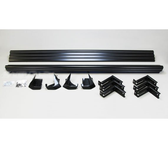 Black Side Steps For G Class W463 Gwagenparts Com