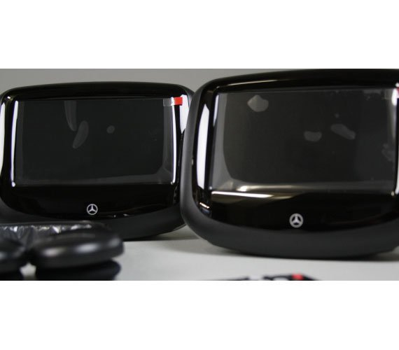 full mercedes-benz rear entertainment system