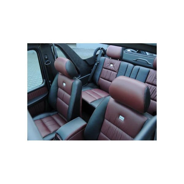 brabus leather alcantara interior conversion w463 mercedes g class parts. Black Bedroom Furniture Sets. Home Design Ideas