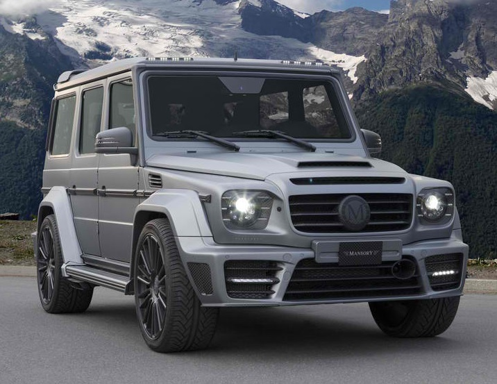 Mansory mercedes carbon fiber wide body kit for g63 65 for Mercedes benz g wagon parts