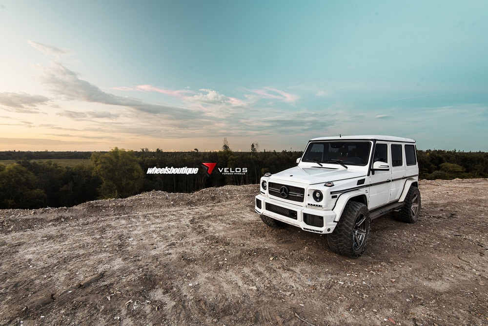 W463 Lift Kit >> WB 4-inch Lift Kit for Mercedes G-class W463 with Steering Stabilizer Bar - GwagenParts.com ...