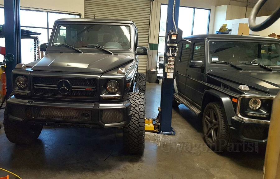 Portal axle conversion for mercedes g class gwagenparts for Mercedes benz portal axles